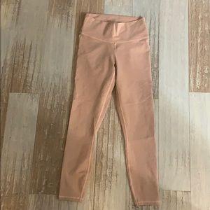 Pink fabletics leggings